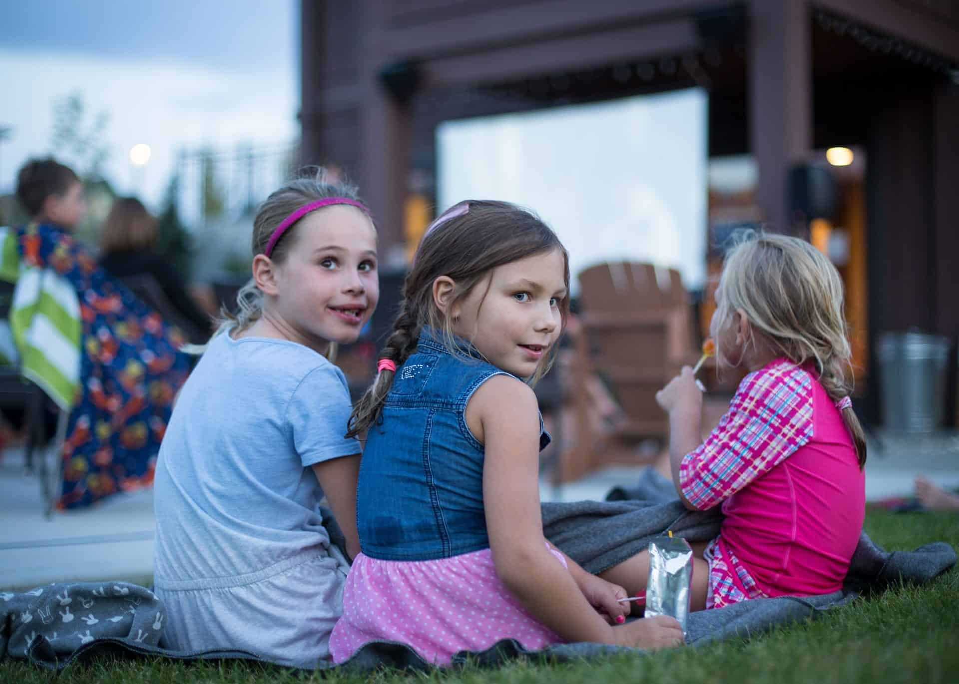 Outdoor Movies at the Park