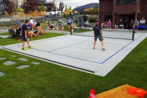 2015 Pickleball Tournament at The Lookout