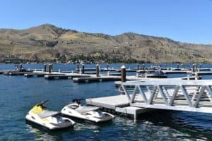 The Lookout Marina in Chelan
